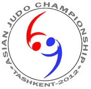 2012 Asian Judo Championships - Image: 2012 Asian Judo Championships logo