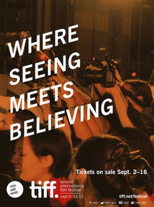 2012 Toronto International Film Festival - Festival poster