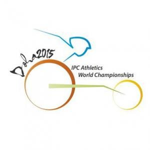 2015 IPC Athletics World Championships - Image: 2015 IPC Athletics Wordl Championships Logo (small)