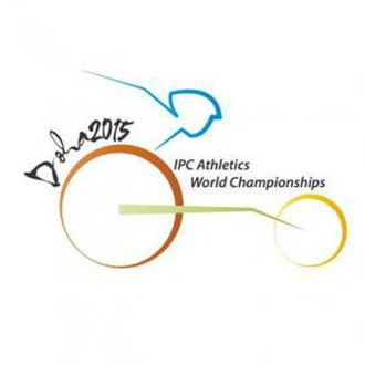 2015 IPC Athletics World Championships - Image: 2015 IPC Athletics Wordl Championships Logo (small)