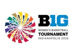 2016 Big Ten Conference Women's Basketball Tournament - 2016 Tournament logo