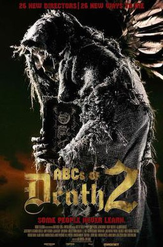 ABCs of Death 2 - Theatrical release poster