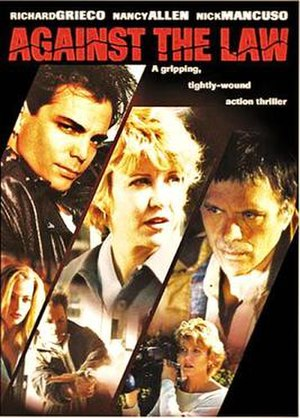 Against the Law (1997 film) - Promotional movie poster