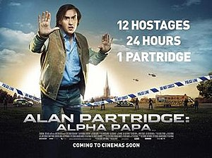 Alan Partridge: Alpha Papa - UK theatrical release poster