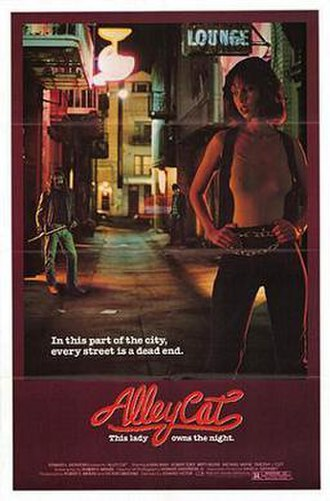 Alley Cat (film) - Theatrical release poster