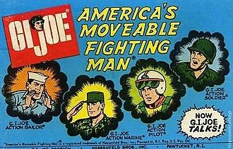 G.I. Joe: America's Movable Fighting Man - Cover of the comic included with America's Moveable Fighting Man.