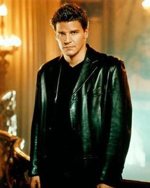 Angel (Buffy the Vampire Slayer) - David Boreanaz as Angel in 1999.