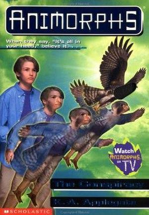 The Conspiracy (novel) - Jake morphing into a peregrine falcon