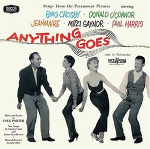 Anything Goes (1956 film) - Image: Anything Goes 1956 Album Cover