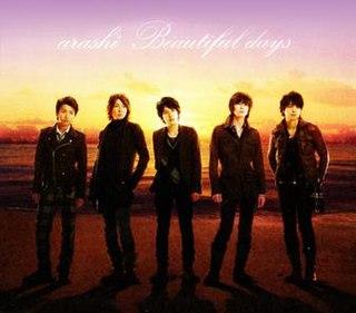 Beautiful Days (song) 2008 single by Arashi