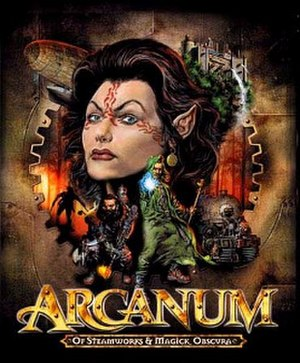Arcanum: Of Steamworks and Magick Obscura - Image: Arcanum cover copy
