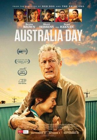 Australia Day (film) - Australian release poster