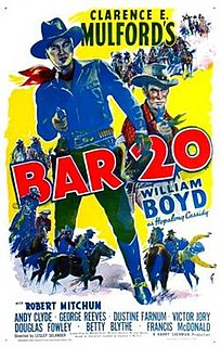 <i>Bar 20</i> 1943 American Western film directed by Lesley Selander