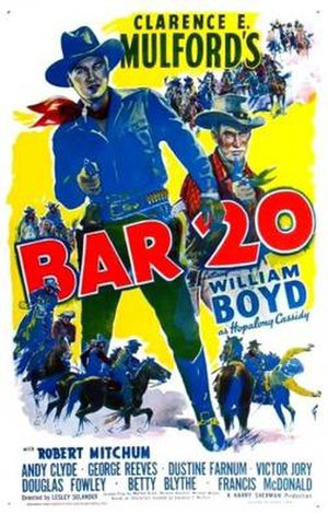 Bar 20 - Theatrical release poster