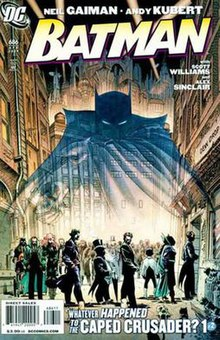 Neil gaiman comic strip batman