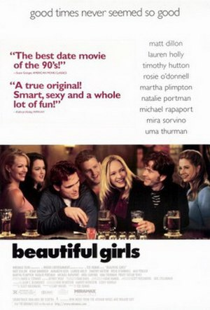 Beautiful Girls (film) - Theatrical release poster