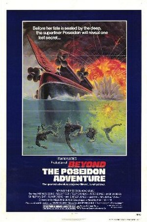 Beyond the Poseidon Adventure - Original film poster by Mort Künstler