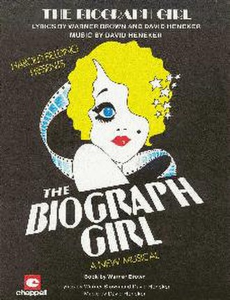 The Biograph Girl - Sheet music for the title tune