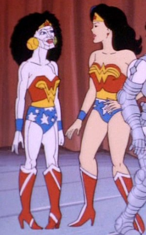Bizarra - Bizarro Wonder Woman from The Super Powers Team: Galactic Guardians animated series.