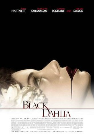 The Black Dahlia (film) - Theatrical release poster