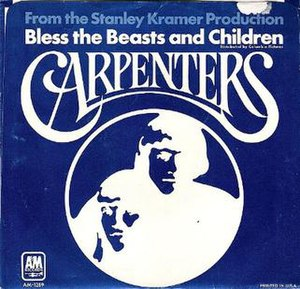 Bless the Beasts and Children (song) - Image: Bless the Beasts and Children Superstar B Side (Edit)