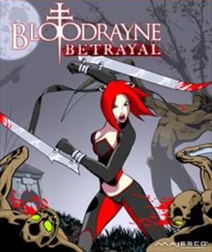 BloodRayne: Betrayal - Image: Blood Rayne Betrayal Coverart