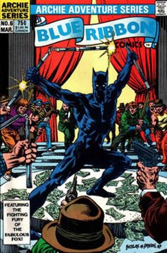 Fox (comics) - Image: Blue Ribbonvol 2no 6
