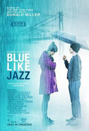 Blue Like Jazz (film) - Theatrical release poster
