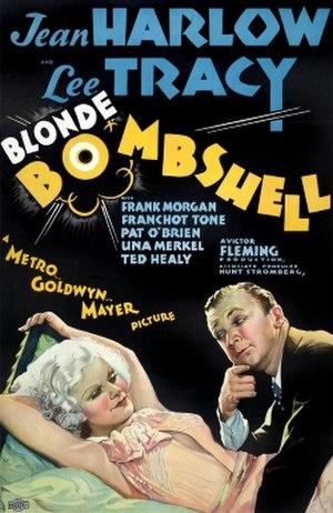 Bombshell (film) - Image: Bombshell 1933movie