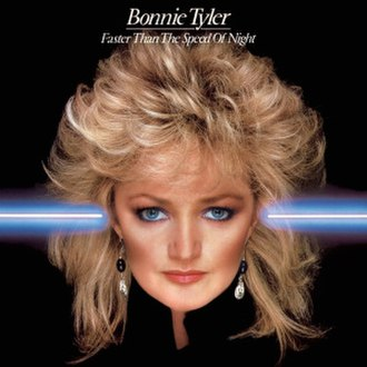 Faster Than the Speed of Night - Image: Bonnie Tyler Faster than the Speed of Night