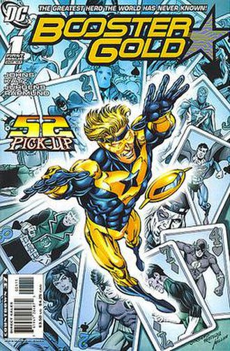 Booster Gold (comic book) - Image: Booster Gold 1