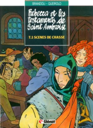 Anna Brandoli - I Testamenti di Sant'Ambrogio, cover of a French edition
