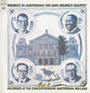 <i>Brubeck in Amsterdam</i> 1969 live album by Dave Brubeck