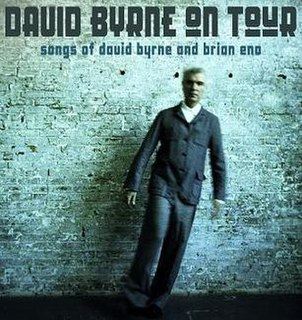 <i>Songs of David Byrne and Brian Eno Tour</i> David Byrne concert tour