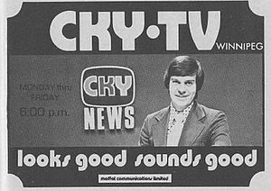 CKY-DT - In the Fall of 1973, CKY-TV was using this logo and promotional campaign.