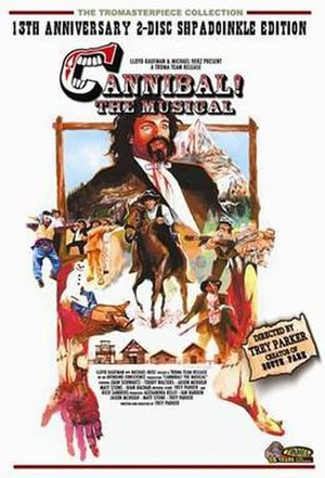 Cannibal! The Musical - 13th Anniversary DVD cover