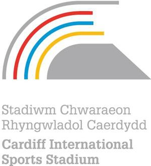Cardiff International Sports Stadium - Image: Cardiff International Sports Stadium logo