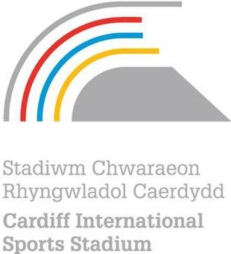 Cardiff International Sports Stadium - Image: Cardiff International Sports Stadium logo