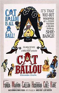 <i>Cat Ballou</i> 1965 film by Elliot Silverstein