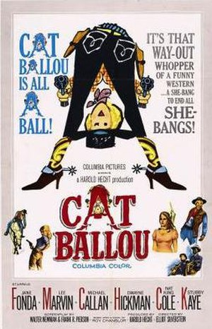 Cat Ballou - theatrical release poster