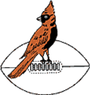 Arizona Cardinals - Chicago Cardinals logo.