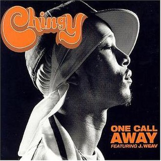 One Call Away (Chingy song) - Image: Chingy Featuring J. Weav One Call Away