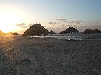 Ciudad del Carmen - Image: Ciudad del Carmen's Playa Norte