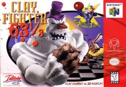 Clayfighter 63 wikipedia the free encyclopedia