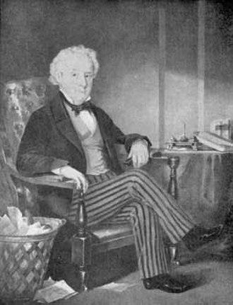 Thomas Talbot (Upper Canada) - Portrait of Colonel Thomas Talbot