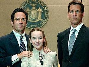 Custody (2007 film) - Main cast of Custody. From left to right: Morrow, Panabaker, and Denton.