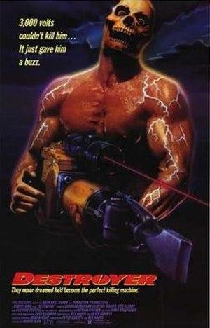 Destroyer (1988 film) - Image: Destroyer Film Poster