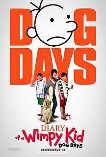 <i>Diary of a Wimpy Kid: Dog Days</i> (film) 2012 film by David Bowers