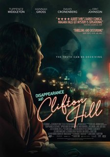 <i>Disappearance at Clifton Hill</i> 2019 Canadian thriller film