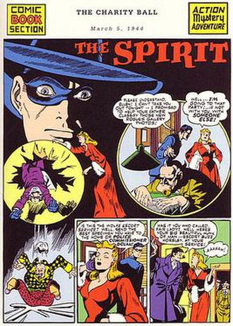 Ellen Dolan (comics) - Ellen played a prominent role amongst The Spirit, a comic filled with female characters.